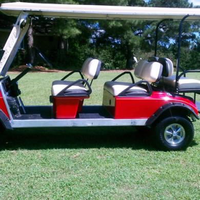 limo golf cart rentals, 6 passenger golf carts