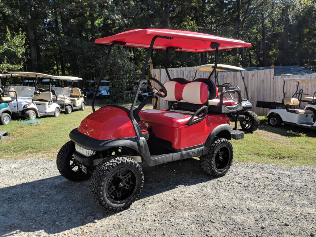 Custom Club Car Build